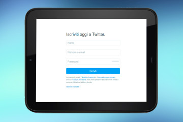 Come creare un account Twitter da smartphone o tablet Android