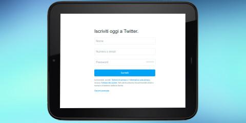 Come creare un account Twitter da smartphone o tablet Android